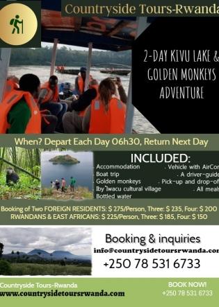 2-day Kivu Lake and Golden Monkeys Adventure (1)
